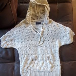 Cream Colored Hoodie Pullover